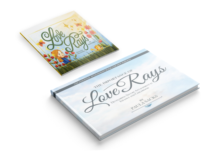 Love Rays Collection Attachment Books - Paula Sacks